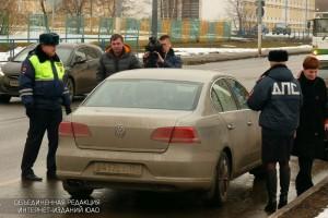 Пост ДПС на улице Подольских Курсантов реконструируют