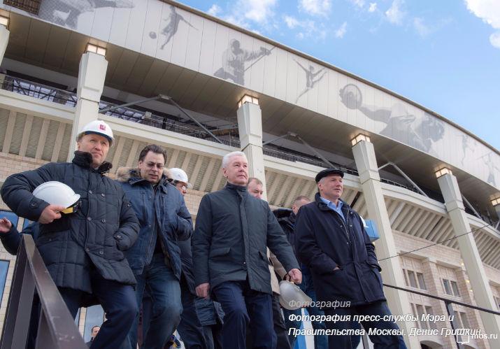 Собянин оценил результаты комплексной реконструкции «Лужников»