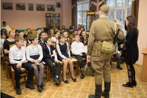 Школьникам района рассказали об обороне Москвы