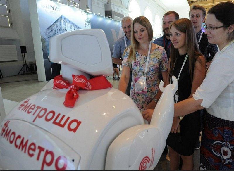 Робот-помощник появится вмосковском метро