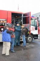 Пожарная часть №32 в Востряковском проезде попала в эфир Первого канала