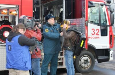 Съемки программы «Доброе утро» прошли в пожарном части №32