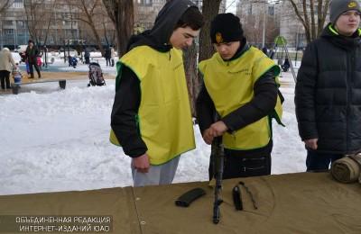 Тренировка с элементами военно-прикладных видов спорта пройдет для подростков района