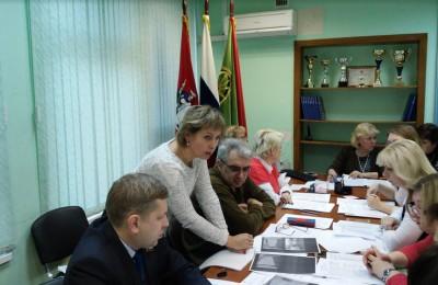 Заседание Совета депутатов муниципального округа