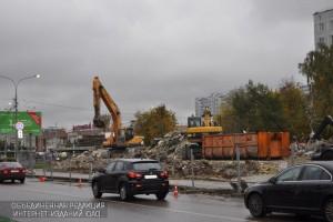 Незаконные постройки снесли в районе по семи адресам