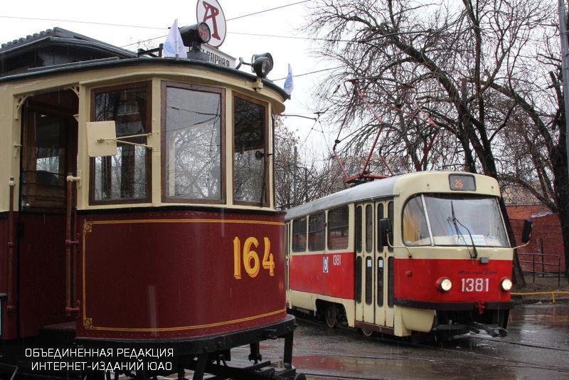 Москвичи увидят парад трамваев 15апреля