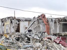 Одиннадцать незаконных строений демонтировали в районе
