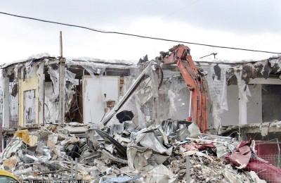 На территории района провели демонтаж 11 незаконных строений