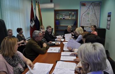 Заседание депутатов муниципального округа Бирюлево Западное