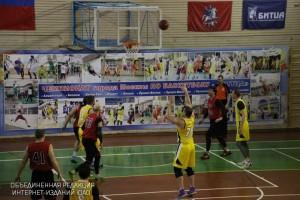 В Битце прошли финальные игры Чемпионата Москвы по баскетболу среди спортсменов старше 35 лет