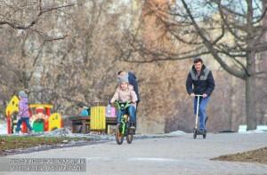 Жители района Бирюлево Западное