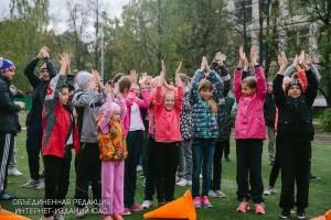 Спортивный праздник в районе Бирюлево заподное