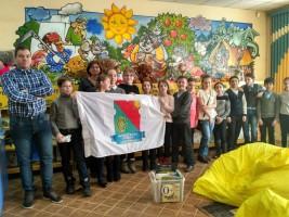 Молодежная Палата района Бирюлево Западное на детском мероприятии в Библиотеке №160