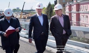 Сергей Собянин в ходе осмотра строительства