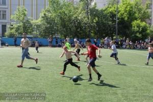 Дети ЮАО на спортивном соревновании