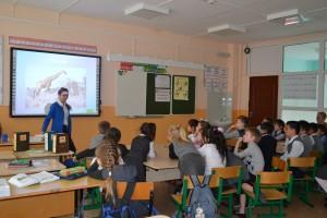 Экоурок в Измайловской школе Ленинского района