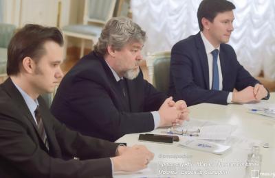 Общественная палата Москвы в мэрии на заседании