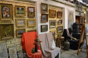 Выставка художественных работ в ЮАО