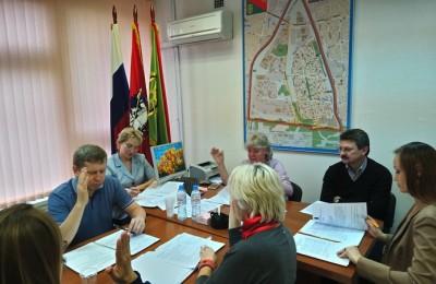 Заседание депутатов Бирюлево Западного