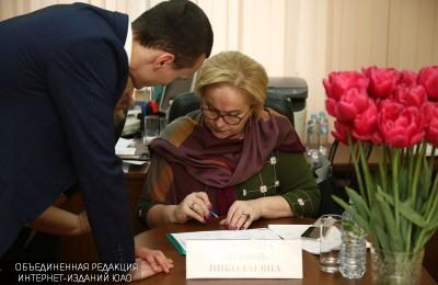 Любовь Духанина провела встречу с жителями в управе района Зябликово