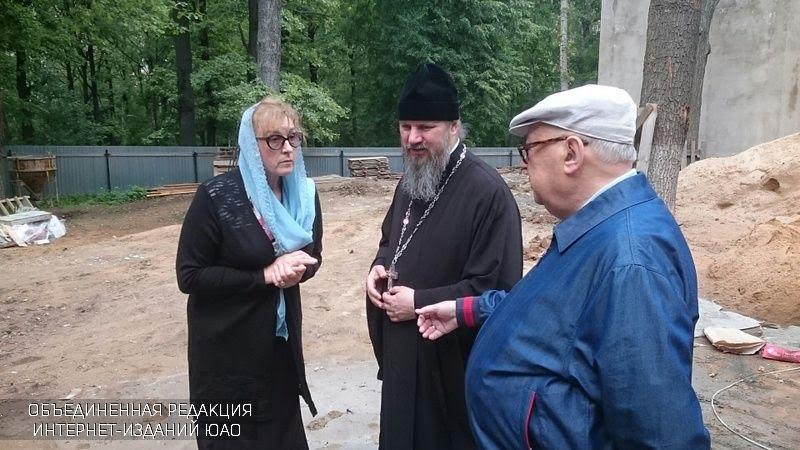 Места возведения храмов вЮжном округе посетил Владимир Ресин