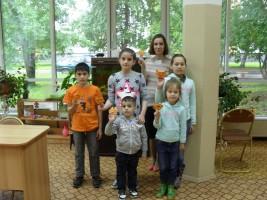 «Час радостного чтения» прошел в детской библиотеке