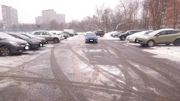На Медынской расчистили снежные заносы