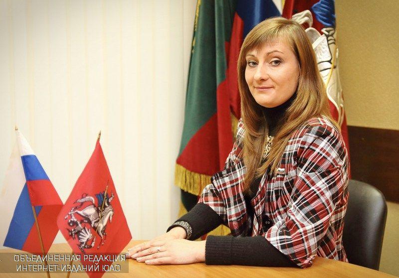 Депутат муниципального округа Елена Виноградова