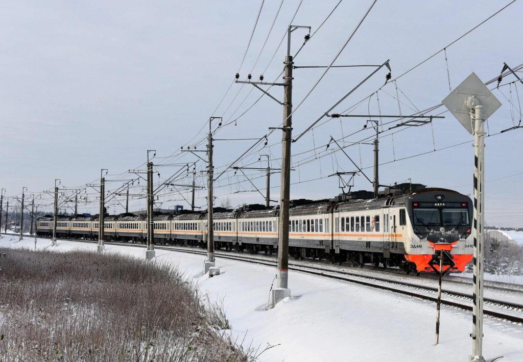 Движение поездов в Москве