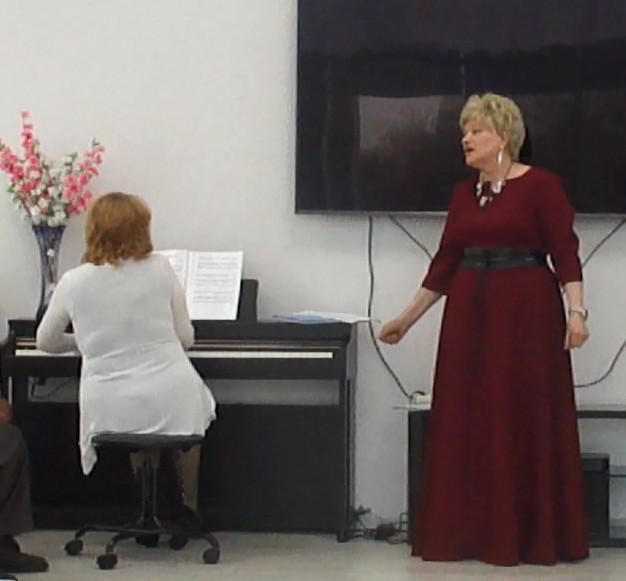 Вера Щеглова на концерте в ТЦСО