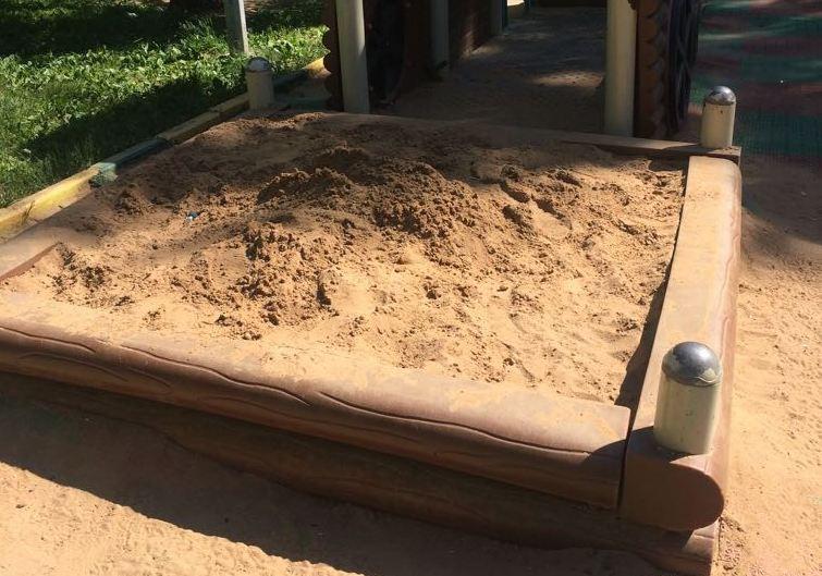 Обновленный песок