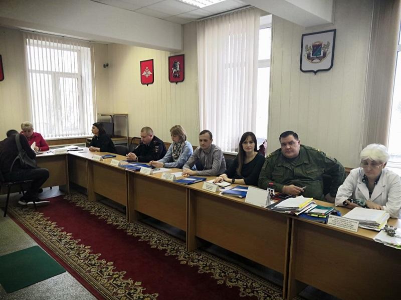 Первое заседание призывной комиссии прошло в Чертановском военкомате