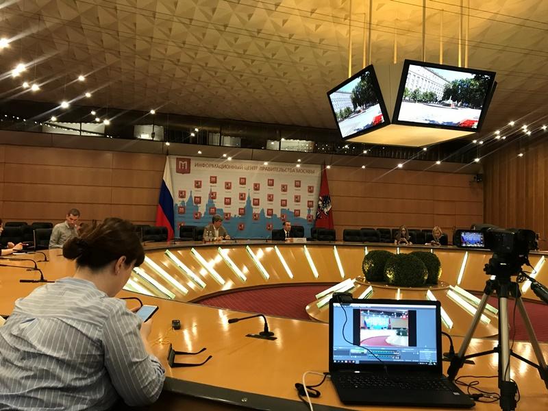 Как коммунальщики справлялись с холодом и снегом: пресс-конференция Петра Бирюкова прошла в Правительстве Москвы