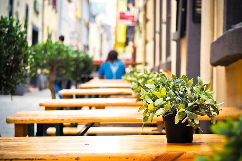 уличное кафе пиксабай